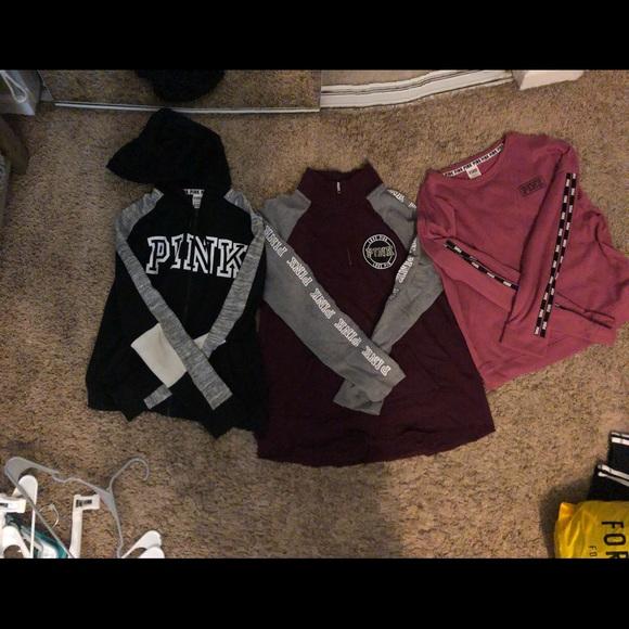 3 Set Pink Sweaters